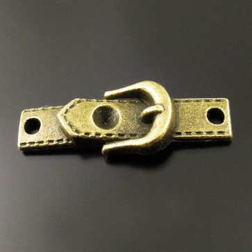 Charms Antique Girdle Clasp Connector