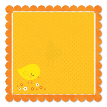 """Sunny Bunny Double-Sided Die-Cut Paper 12""""X12"""""""