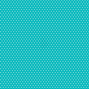"""Core'dinations Core Basics Patterned Cardstock 12x12"""" - Teal Small Dot"""