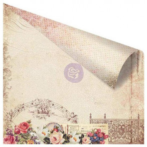 """Prima Marketing Tales Of You & Me Double-Sided Cardstock 12x12"""" - Belles Melodies d'amour"""