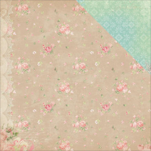 "BoBunny Soiree Double-Sided Cardstock 12x12"" - Linens"