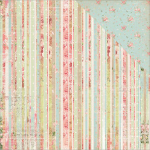 "BoBunny Soiree Double-Sided Cardstock 12x12"" - Stripe"