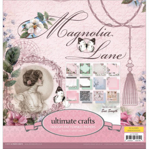 """Ultimate Crafts Double-Sided Paper Pad 12x12"""" 24/Pkg - Magnolia Lane"""