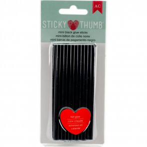 Sticky Thumb Mini Hot Glue Sticks 1 stk - Black