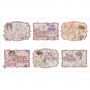 FabScraps My Fair Lady Stickers - Sayings