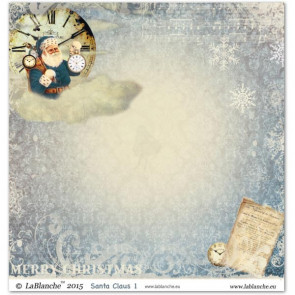 """LaBlanche Papers """"Santa Claus"""" 1 Dobbeltsidet 12x12"""""""
