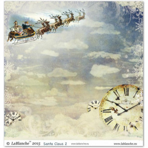 """LaBlanche Papers """"Santa Claus"""" 2 Dobbeltsidet 12x12"""""""