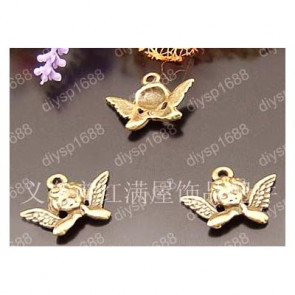 Charms Antik Bronze Angel Wings