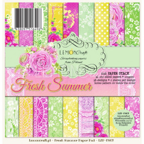 "LemonCraft 12x12"" Collection Kit - Fresh Summer"