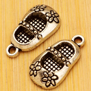 Charms Antique Silver Shoe