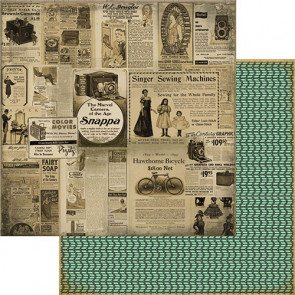 """Marion Smith Designs Nirvana Double-Sided Cardstock 12x12"""" - Printworthy"""