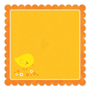 "Sunny Bunny Double-Sided Die-Cut Paper 12""X12"""
