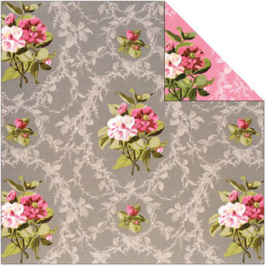 """Anna Griffin Camilla Double-Sided Cardstock 12x12"""" - Floral"""