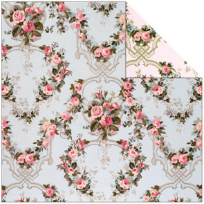 """Anna Griffin Camilla Double-Sided Cardstock 12x12"""" - Garland"""