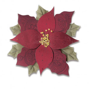Jolee's Christmas Stickers - Red Poinsettia