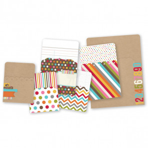 Sn@p! Pockets Assortment 6/Pkg - Color Fusion