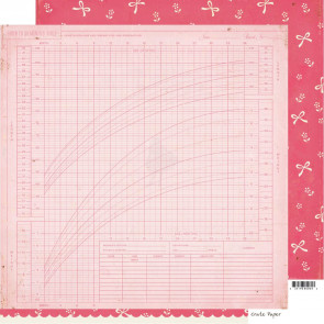 """Crate Paper Little Bo Peep Double-Sided Cardstock 12x12"""" - Jane"""