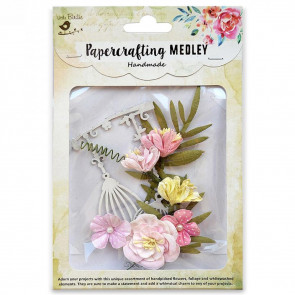 Little Birdie Paper Crafting Medley - Emily 7pcs