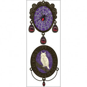 Jolee's By You Dimensional Stickers - Owl & Spider Pendants