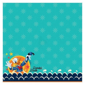 """Disney Speciality Paper 12x12"""" - Donald Duck Glitter Thermography"""