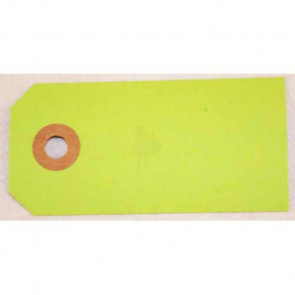 Manilla A2 Tags 4 x 8 cm - Lime