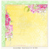 """LemonCraft Double Sided 12x12"""" Scrapbooking Paper - Fresh Summer 04"""