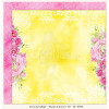 """LemonCraft Double Sided 12x12"""" Scrapbooking Paper - Fresh Summer 02"""