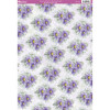 A4 Kanban Background Card - Asters & Baby's Breath Swirls
