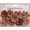 Little Birdie Serenade Blooms Terracotta 9pcs Vintage Elements